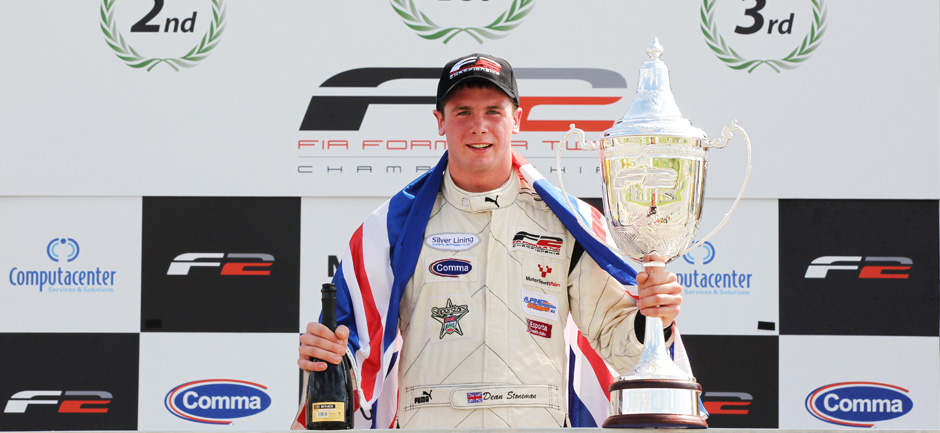 19/09/2010 – 2010 champion Stoneman looks forward to prize F1 test