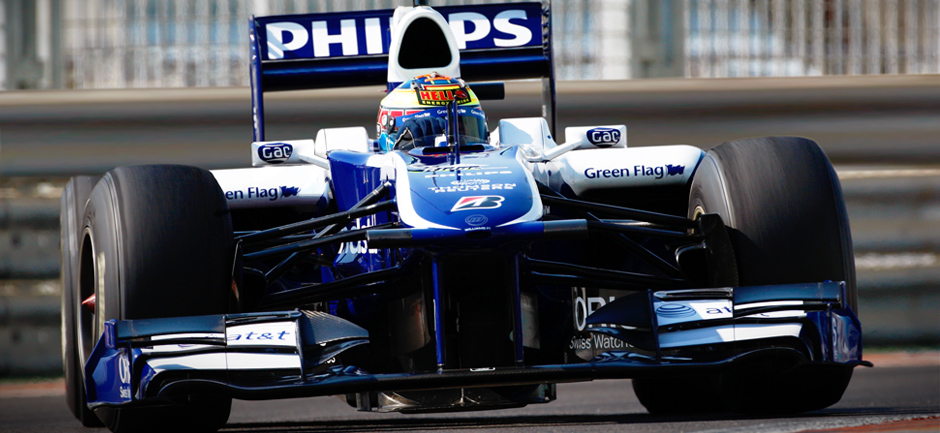 Dean completes his AT&T Williams Formula 1 test in Abu Dhabi