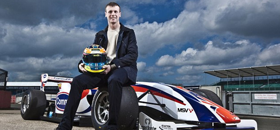 Dean Stoneman was poised to be the next Jenson Button but faced a terrifying race against 'young man's cancer'