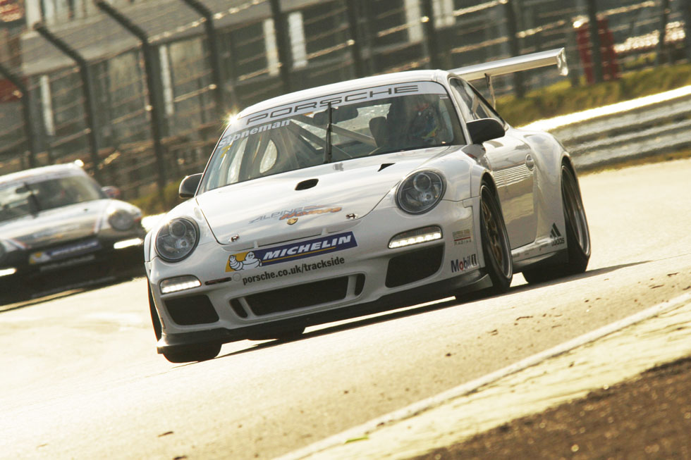Stoneman Fastest in Carrera Cup Practice
