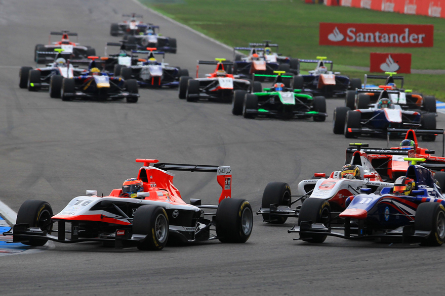 More GP3 Points for Stoneman in Germany
